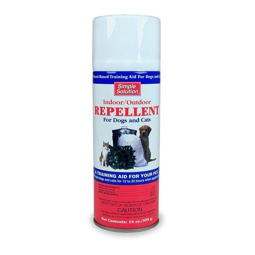 Simple Solution Indoor / Outdoor Repellent For Dogs and Cats 14 oz
