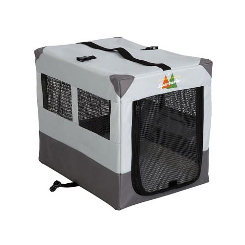 Midwest Canine Camper Sportable Crate Gray 24