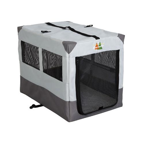Midwest Canine Camper Sportable Crate Gray 31