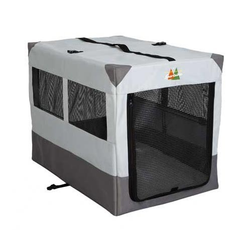 Midwest Canine Camper Sportable Crate Gray 36