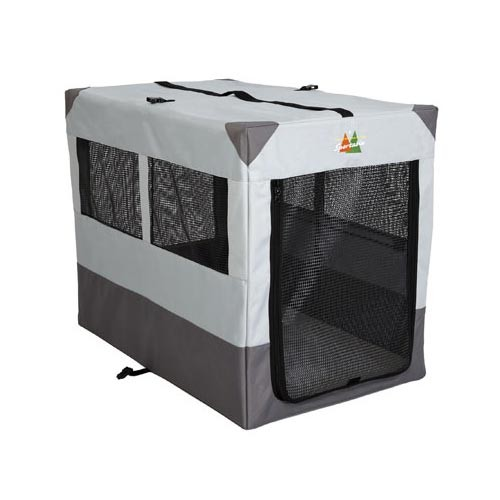 Midwest Canine Camper Sportable Crate Gray 42