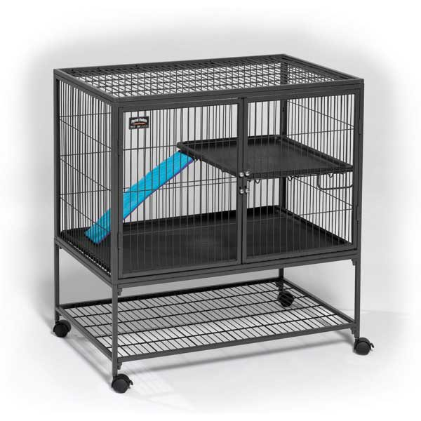 Midwest Ferret Nation Single Unit Cage Gray 36