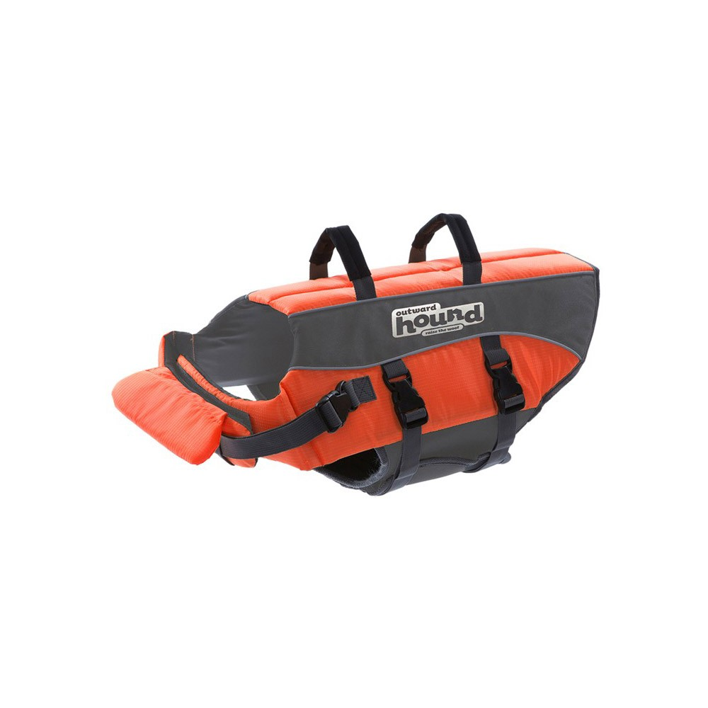Outward Hound Dog Life Jacket Medium Orange 9