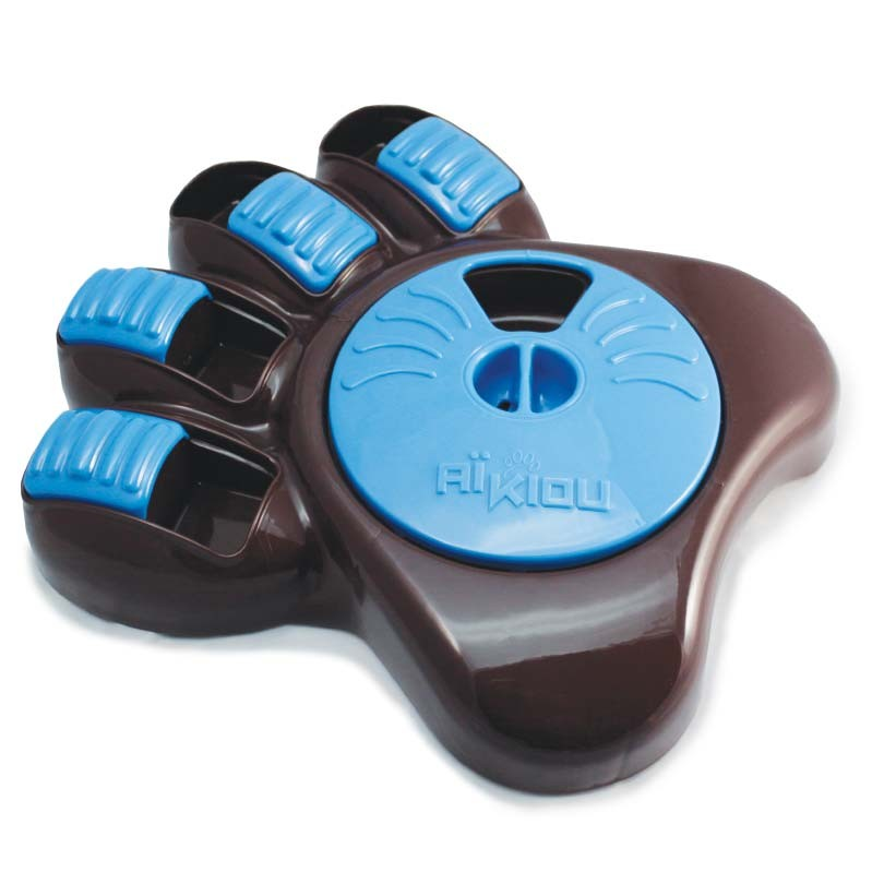 Aikiou Activity Food Center for Dogs Brown / Blue 14