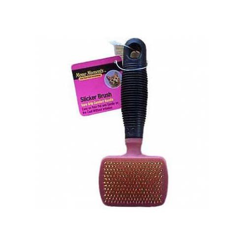 American Leather Dog Slicker Brush Pink 5