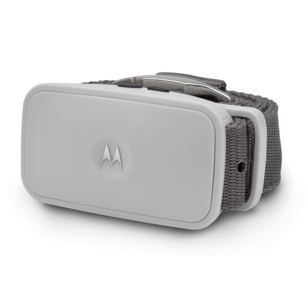 Motorola Dog Shock-Free No-Bark Collar with Dual Sonic Technology Gray