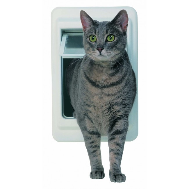 Ideal ChubbyKat/HeftyKat Door White 8.25
