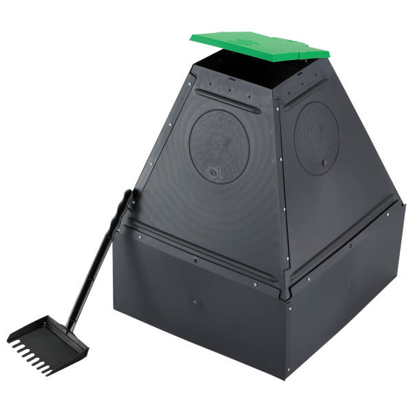 Hueter Toledo Doggie Dooley In-ground Waste Disposal For 1 To 4 Dogs Black 18.25