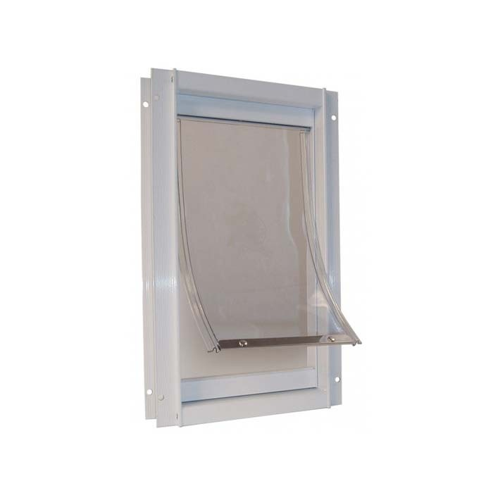 Ideal Deluxe Dog Door Medium White 7