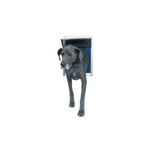 Ideal Deluxe Dog Door Extra Extra Large White 15