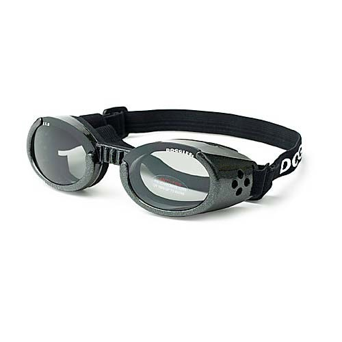 Doggles ILS Dog Sunglasses Medium Black / Smoke
