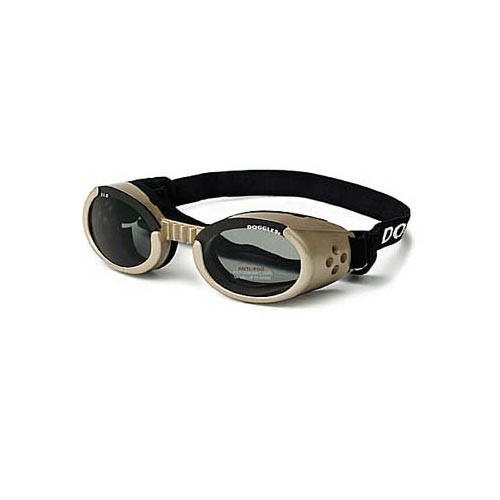 Doggles ILS Dog Sunglasses Extra Small Chrome / Smoke
