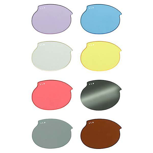 Doggles ILS Replacement Dog Sunglass Lenses Extra Small Mirror Smoke