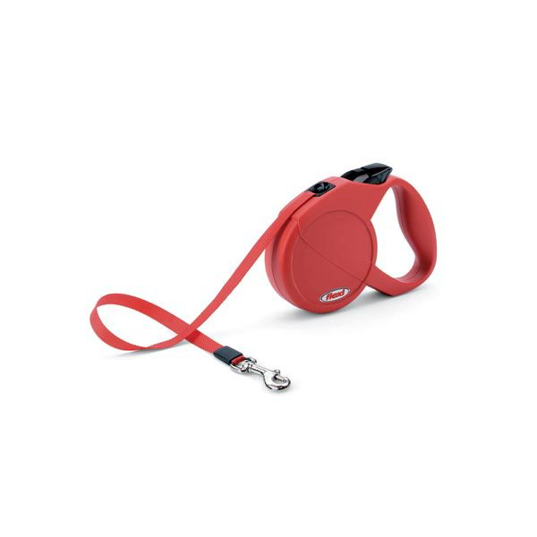 Flexi USA Durabelt Retractable Belt Leash 16 feet up to 44 lbs. Small Red
