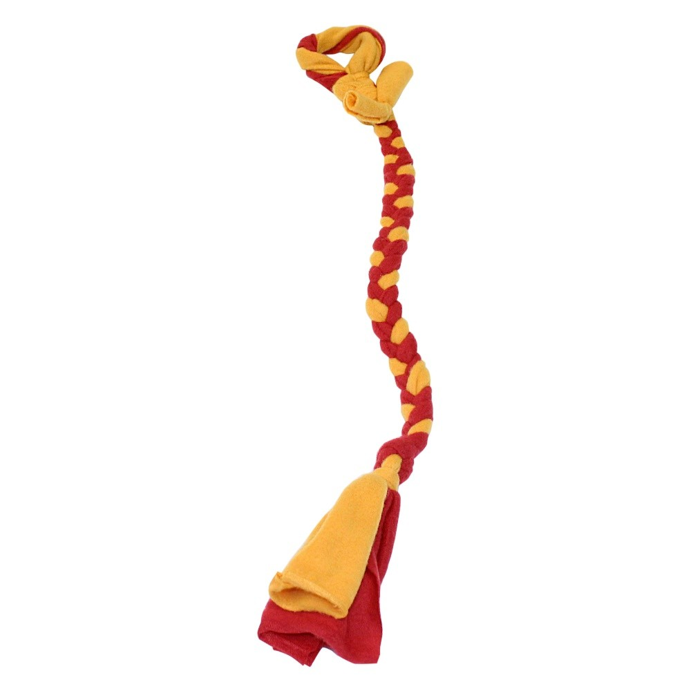 Tether Tug Braided Fleece Replacement Tether Toy Assorted Colors 30