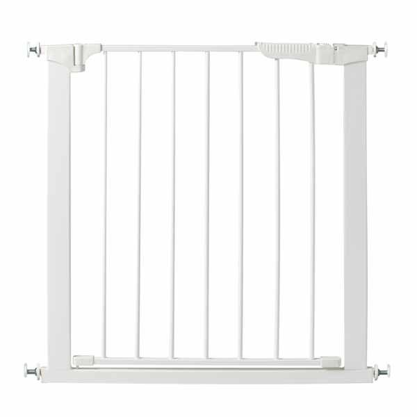 Kidco Auto Close Gateway Pressure Mounted Pet Gate White 29