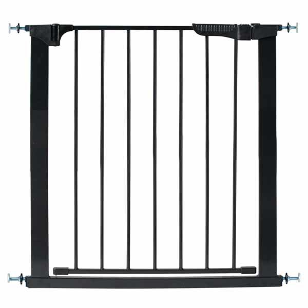Kidco Auto Close Gateway Pressure Mounted Pet Gate Black 29