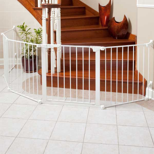 Kidco Auto Close ConfigureGate Pet Gate White 84