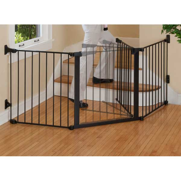 Kidco Auto Close ConfigureGate Pet Gate Black 84