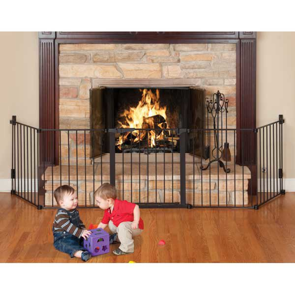 Kidco Auto Close HearthGate Pet Gate Black 132