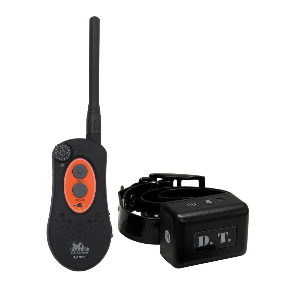D.T. Systems H2O 1 Mile Dog Remote Trainer Black