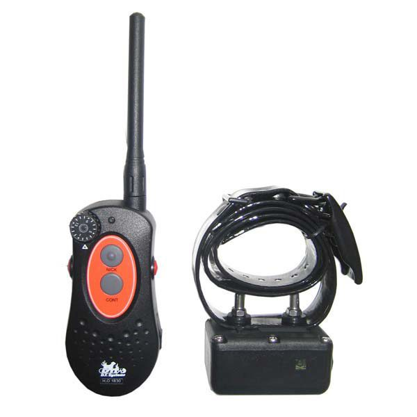 D.T. Systems H2O 1 Mile Dog Remote Trainer with Rise and Jump Black