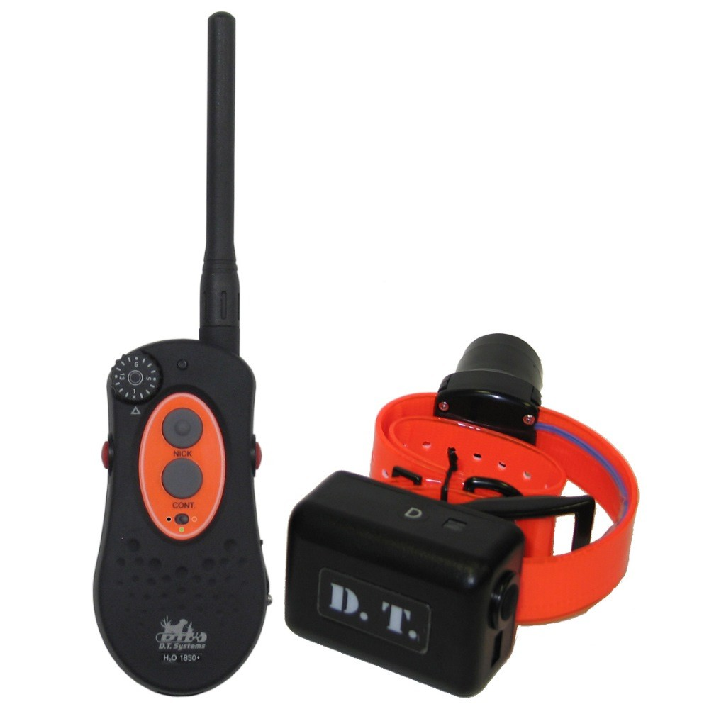 D.T. Systems H2O 1 Mile Dog Remote Trainer with Beeper Black