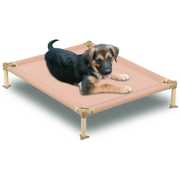 Hugs Pet Products Dog Cool Cot Large Tan 38