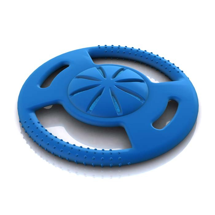 Hugs Pet Products Hydro Dog Saucer Toy Blue 7