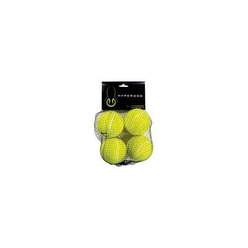 Hyper Pet Mini Tennis Balls 4 Pack Green