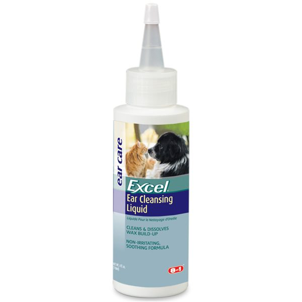 8-in-1 Dog Ear Clear -  Ear Cleansing Liquid 4 oz