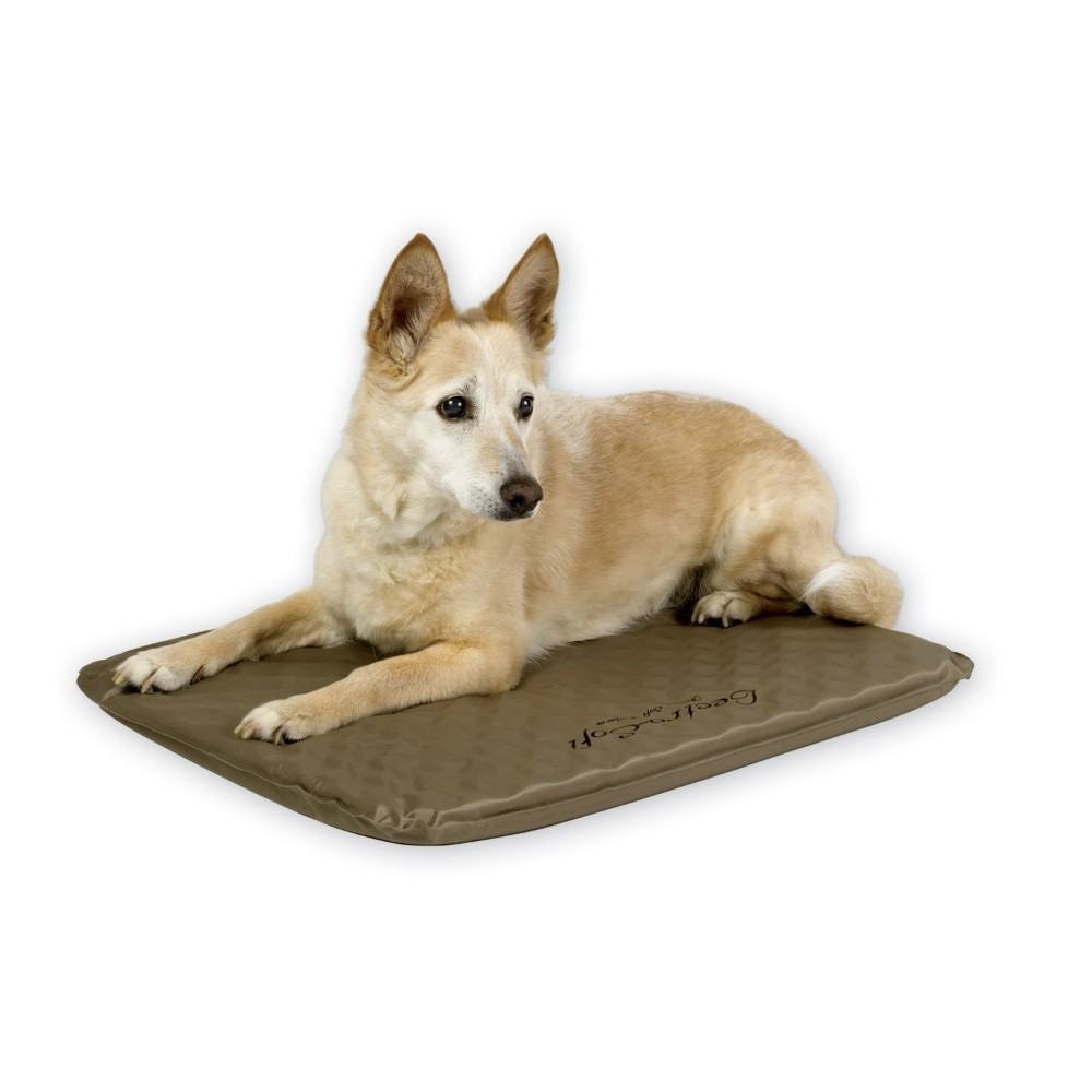 K&H Pet Products Lectro-Soft Heated Outdoor Bed Medium Tan 19