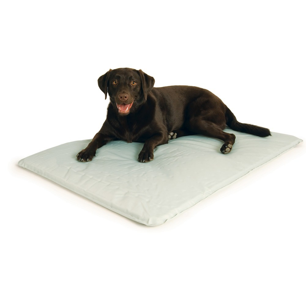 K&H Pet Products Cool Bed III Thermoregulating Pet Bed Large Gray 32