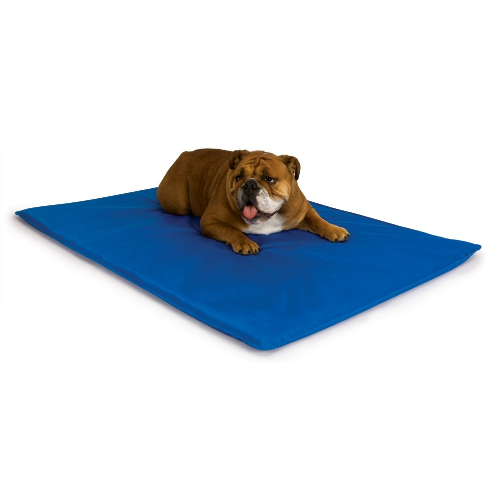 K&H Pet Products Cool Bed III Thermoregulating Pet Bed Medium Blue 22