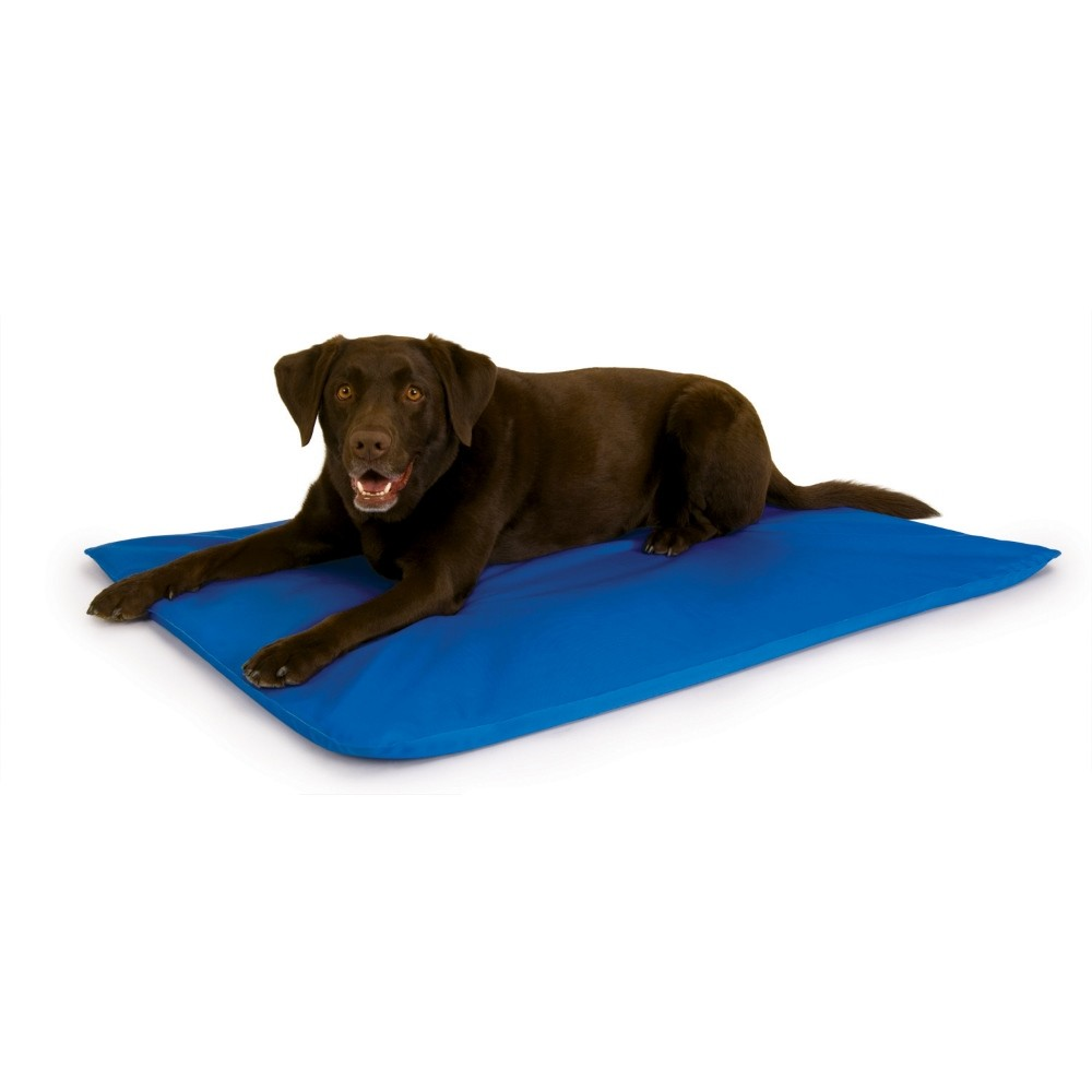 K&H Pet Products Cool Bed III Thermoregulating Pet Bed Large Blue 32