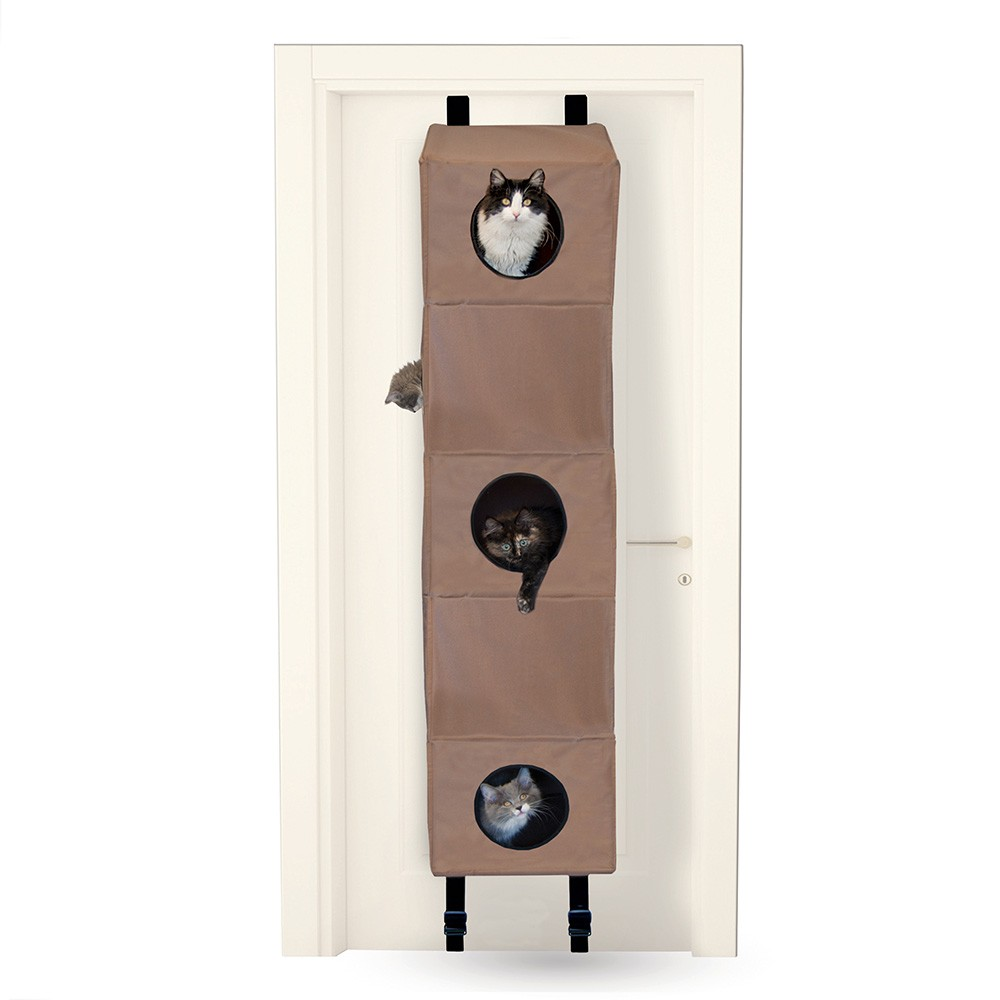 K&H Pet Products Hangin Cat Condo Small Tan 16
