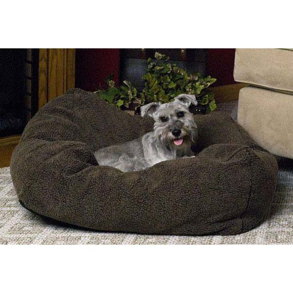 K&H Pet Products Cuddle Cube Pet Bed Medium Mocha 28