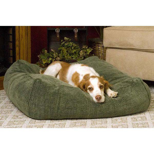 K&H Pet Products Cuddle Cube Pet Bed Medium Green 28