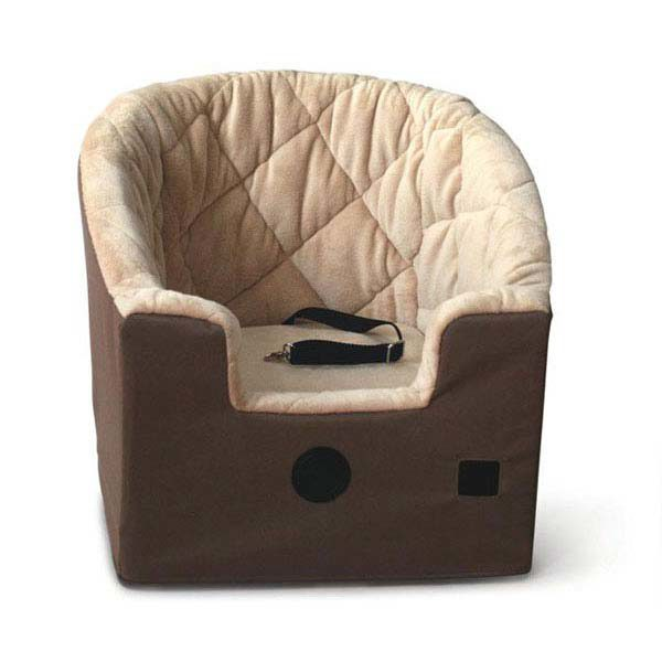 K&H Pet Products Bucket Booster Pet Seat Large Gray 20
