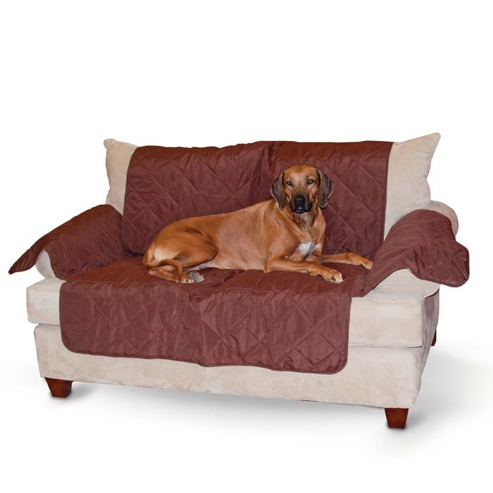 K&H Pet Products Economy Furniture Cover Couch Chocolate 75