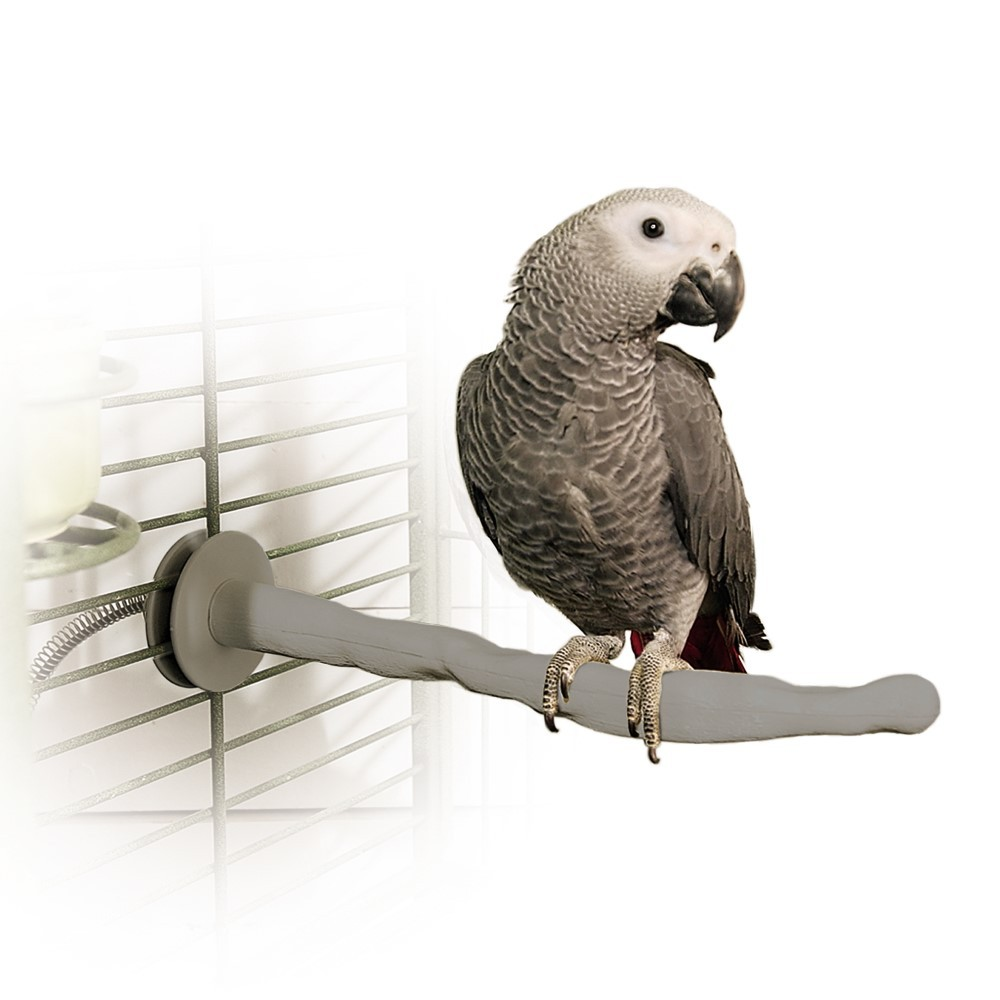K&H Pet Products Bird Thermo-Perch Gray 13