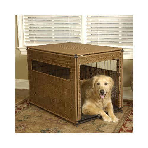 Mr. Herzher's Pet Residence Large Dark Brown 36
