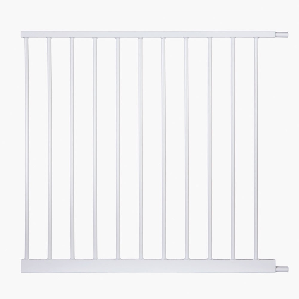 North States Auto-Close Gate 11 Bar Extension White 31.25