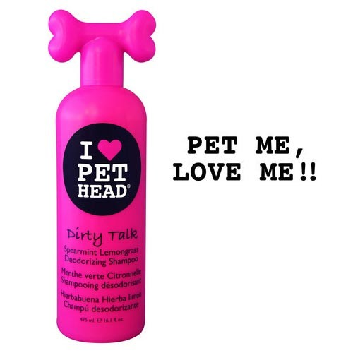 Pet Head Dirty Talk Deodorizing Shampoo Spearmint Lemongrass 16oz 9