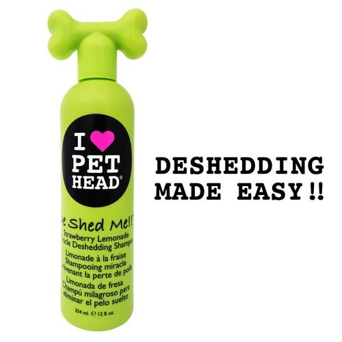 Pet Head De Shed Me Miracle Deshedding Shampoo Strawberry Lemonade 12oz 9