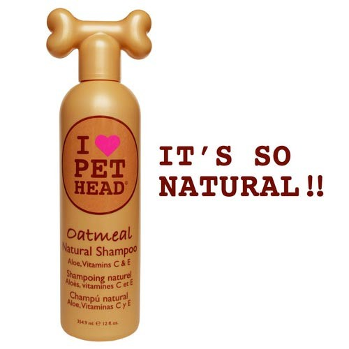 Pet Head Oatmeal Natural Shampoo 12oz 9