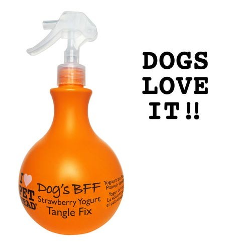 Pet Head Dog's B.F.F. Tangle Fix Spray Strawberry Yogurt 15oz 8