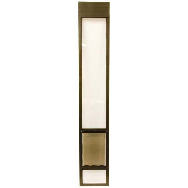 PetSafe Freedom Patio Panel Large and Tall Bronze 13.375
