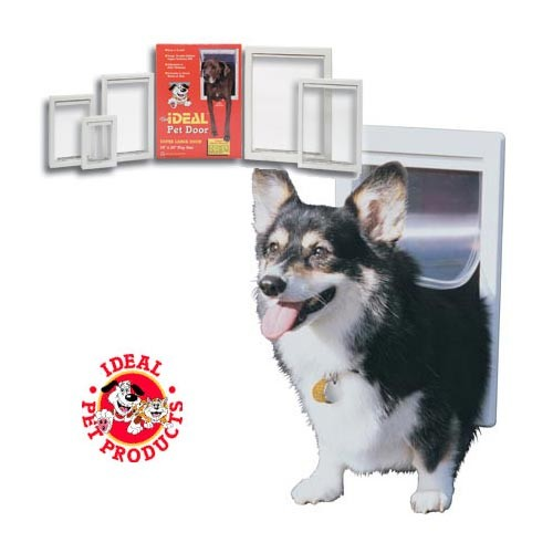 Ideal Original Pet Door Large White 10.5