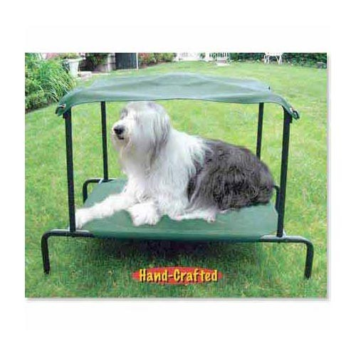 Puppywalk Breezy Bed Outdoor Dog Bed Green 48